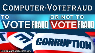 computer voter fraud