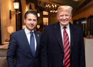 Trump and Italian PM