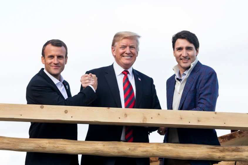 Trump with soy boys