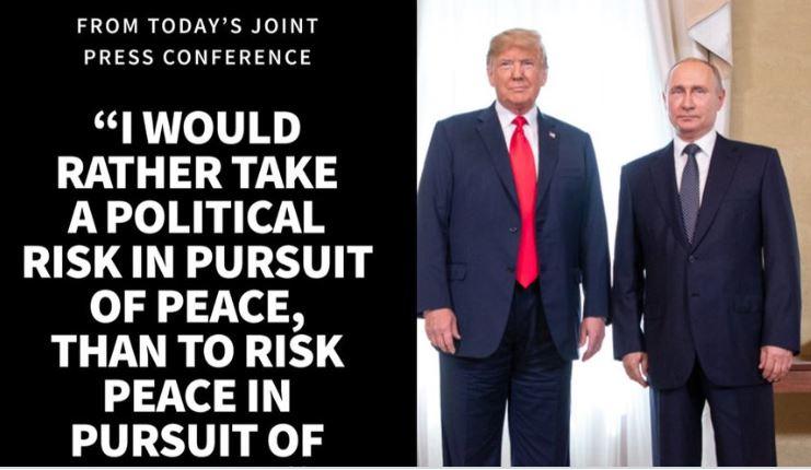 Political risk Putin Trump