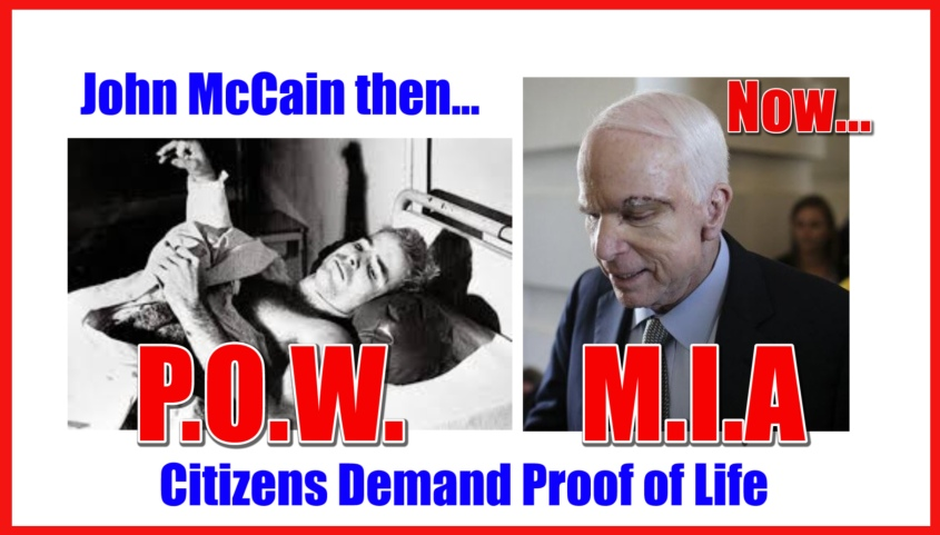 McCain Proof of Life 2
