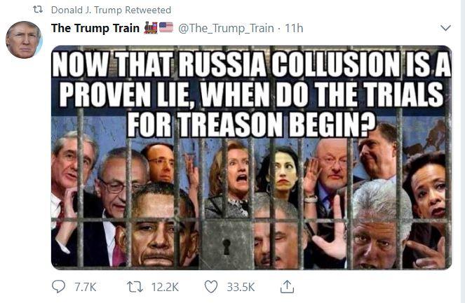 trials for treason