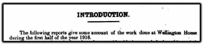 introduction wellington house