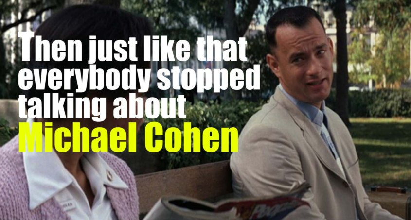michael cohen forest gump