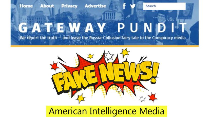 Gateway pundit fake news