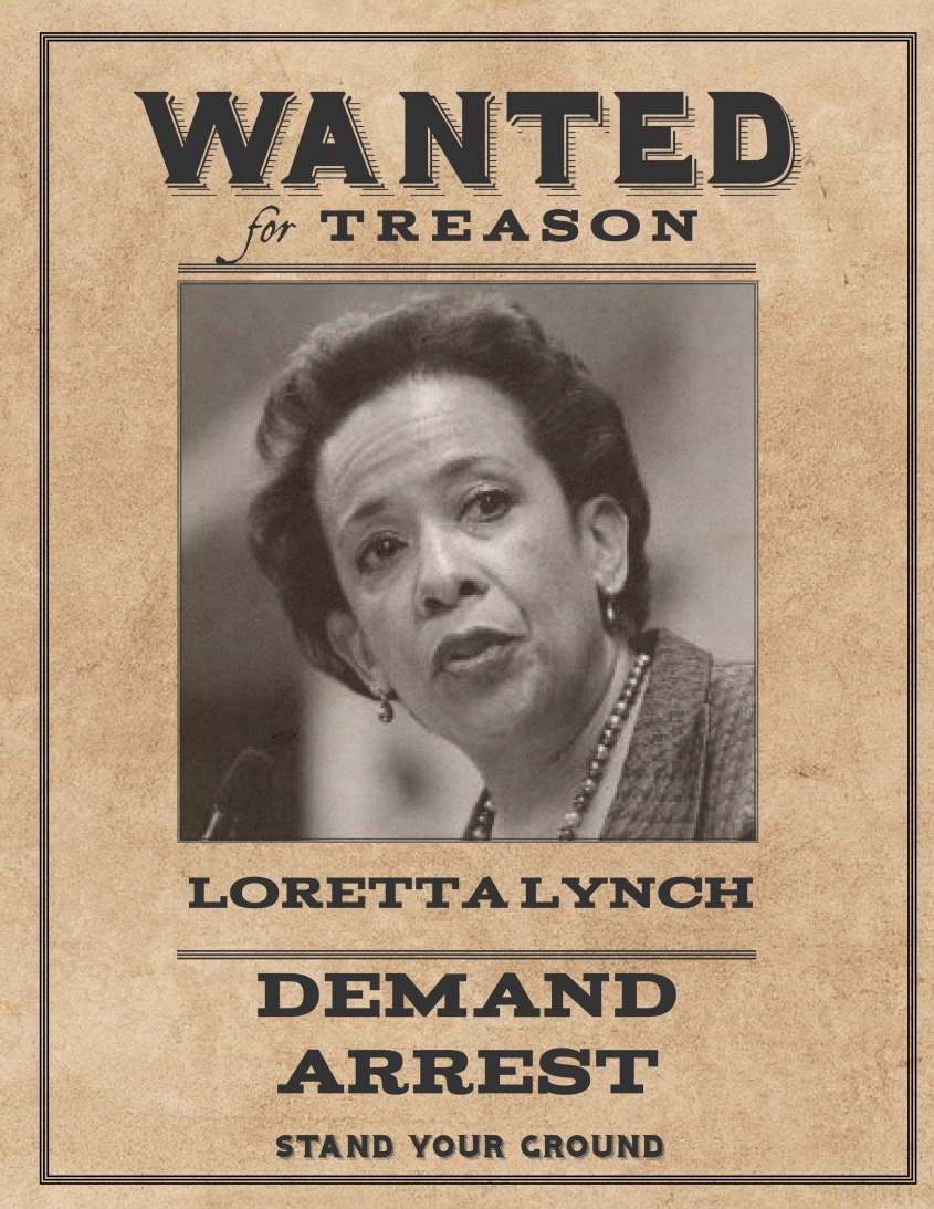 Wanted Loretta Lynch