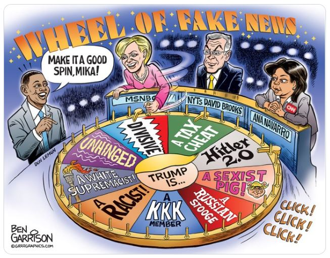 garrison fake news