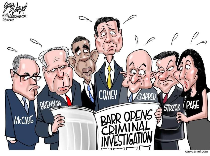 democrats comey obama brennan strzok
