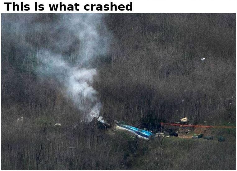 crashed helicopter