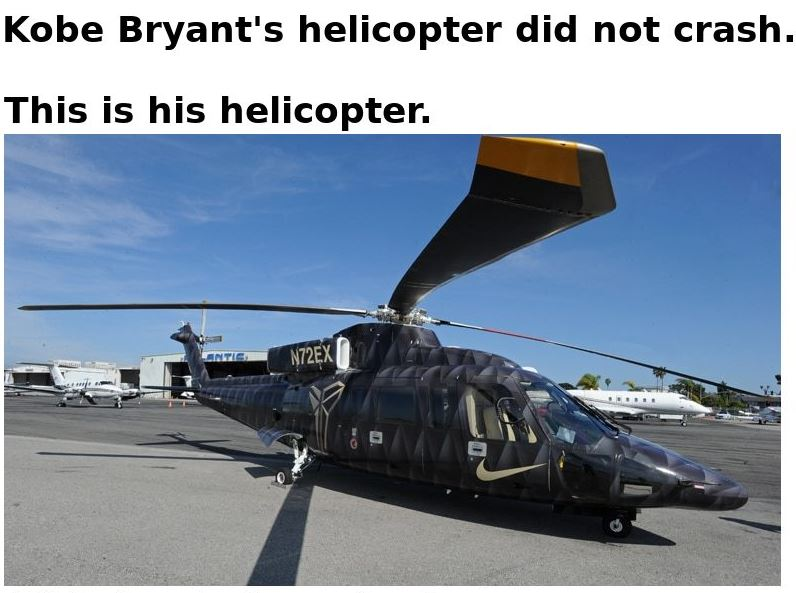 kobe helicopter 1