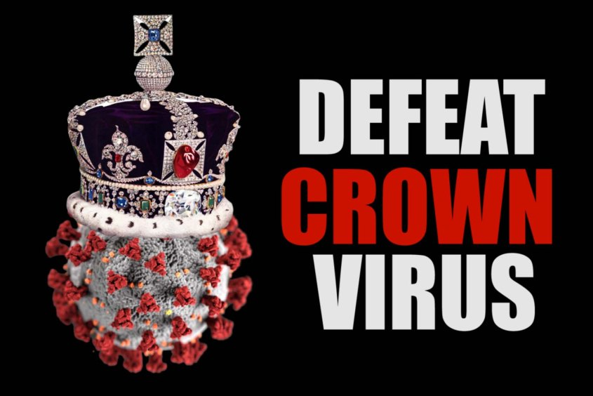 defeat crown virus corona