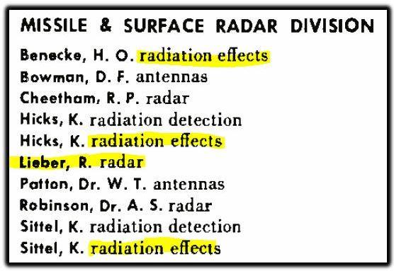 lieber radar