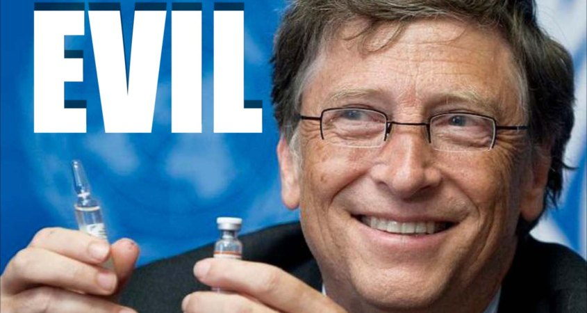 Let Bill Gates Know You Have His # Gates-evil