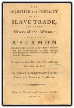 slave trade a sermon